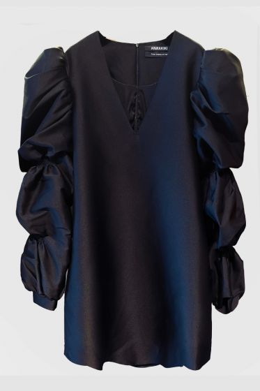 ANNAKIKI  - Puff Sleeve Dress