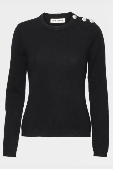 CUSTOMMADE   -  Apple Softest Cashmere Crewneck Sweater