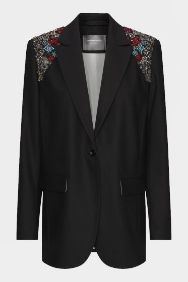 CUSTOMMADE   -  Fabiana BY NBS Embroidered Jacket