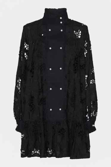 CUSTOMMADE  - Lara Embroidered Lace Dress