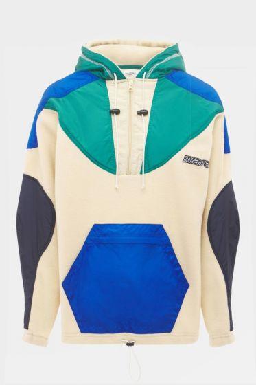 ISABEL MARANT ETOILE  -   Mantsy Sporty Fleece  Sweatshirt