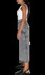 ANNAKIKI - Asymmetric Acid Wash Denim Skirt
