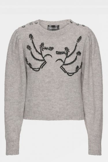 CUSTOMMADE   -  Tira by NBS Embroidered Sweater