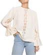 By TIMO -  Elegant Lace Blouse Creme