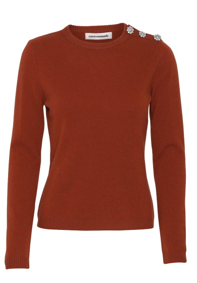 CUSTOMMADE   - Apple Soft Cashmere Sweater