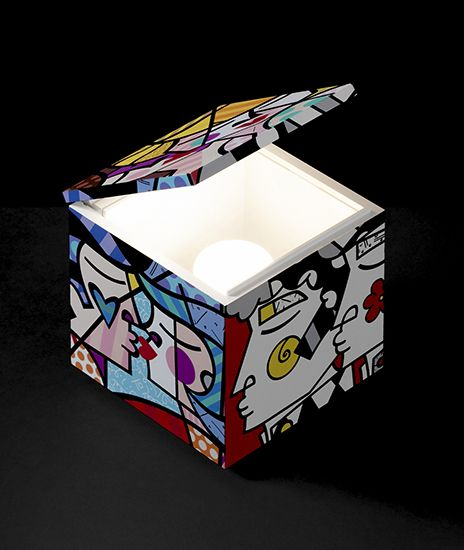 """CINI & NILLS  - Cuboluce """" People """"Special Edition by BRITTO"""