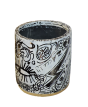 "ESPEJTO  -  Tribute to ""Haring "" Vase"