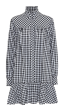 CUSTOMMADE  -   Elorie Black Check Cotton Dress