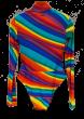 ANNAKIKI -     Printed Multicolor Bodysuit