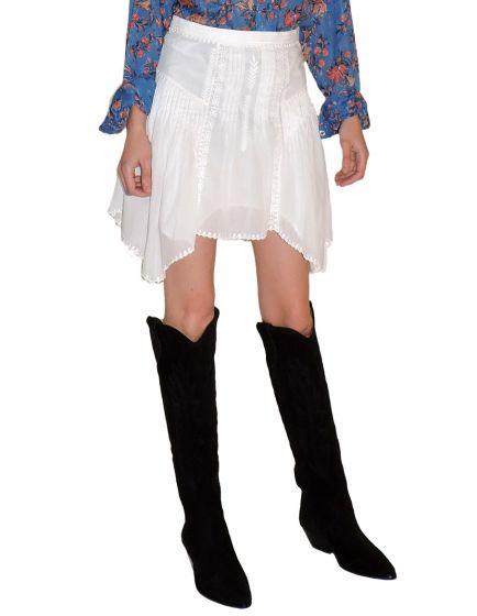 ISABEL MARANT ETOILE -  Akala Vintage Lace Skirt
