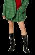 ANNAKIKI   - Plaid Pleated Skirt