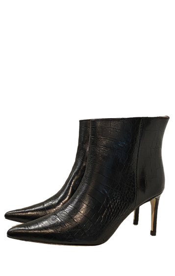 CUSTOMMADE  -   Abbylin Croco Letaher Boots