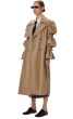 ANNAKIKI -  Hubble Bubble Trench Coat