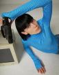 ANNAKIKI -     Checked Print Bodysuit