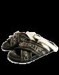 CEDRIC CHARLIER -  Studded + Metal Details Black Slipper