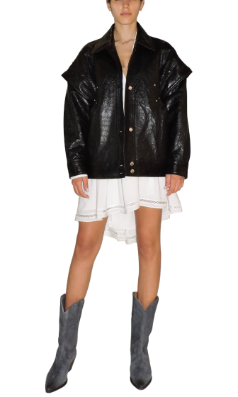 IRO - Walaspy Leather Jacket