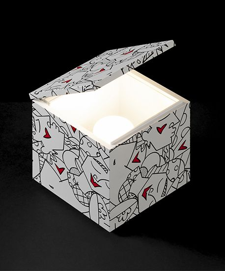 """CINI & NILLS  - Cuboluce  """"White """"Special Edition by BRITTO"""