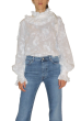 CUSTOMMADE  -   Elda White Lace  Top